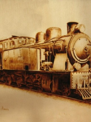 Máquina de tren